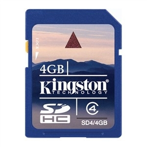 Kingston SD/4GB