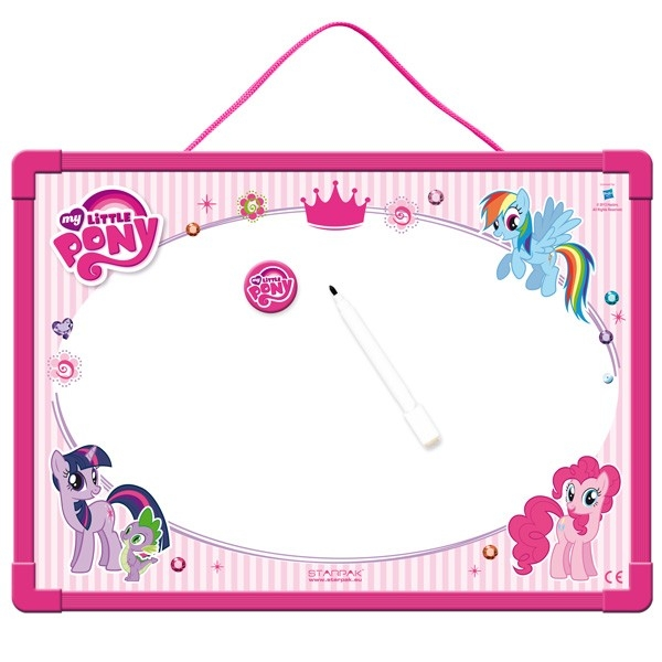 Bela tabla magnetna My Little Pony 355x255 - Ostali školski pribor