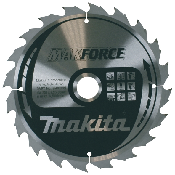LIST TEST.235x30 24z DR MAKITA - List testere za drvo